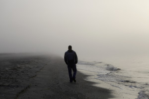 angst, eenzaam, alleen